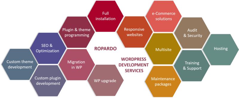 WORDPRESS CUSTOM DEVELOPMENT BY ROPARDO