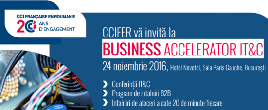 Ropardo at Business Accelerator IT&C conference