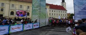 Ropardo leaves traces at Sibiu Marathon
